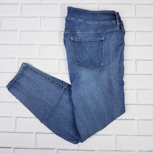 Torrid Medium Wash Blue Jeans Size 22R